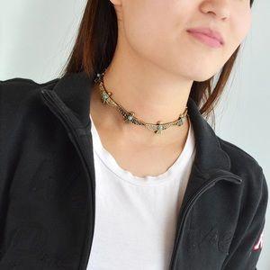 Jewelry - Thunderbird Turquoise Boho Choker Necklace